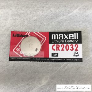 Coin Battery CR2032