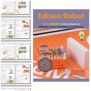 Edison Robot Activity Book